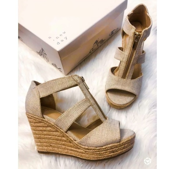 Womens Sandals Espadrilles Pumps Slip On Wedges Slip On Shoes Size New